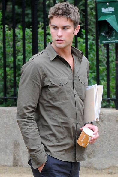 Chace Crawford inbetween takes