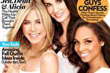 Jen Aniston, Demi Moore and Alicia Keys team up for Glamour cover