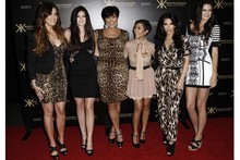 The Kardashians hit the red carpet to launch the Kardashian Kollection in LA