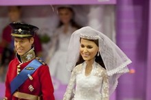 Kitsch or creepy? William and Kate wedding day dolls go on sale