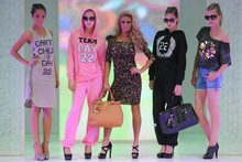 Sneak peek: Katie Price launches debut clothing collection with catwalk show