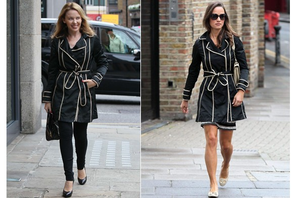 Kylie Minogue vs Pippa Middleton
