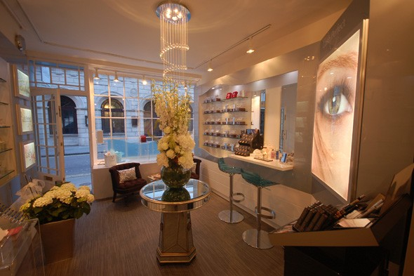 The new lash perfect lash bar in London