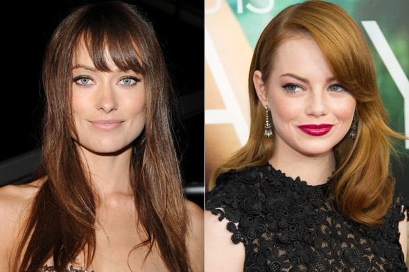 Olivia Wilde and Emma Stone are the new faces of Revlon