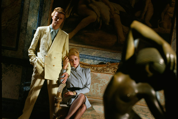 David Bowie and Catherine Deneuve, <I>The Hunger,</i>, 1983