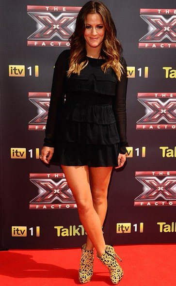 Caroline Flack at the launch press conference