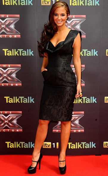 Tulisa Contostavlos at the launch press conference
