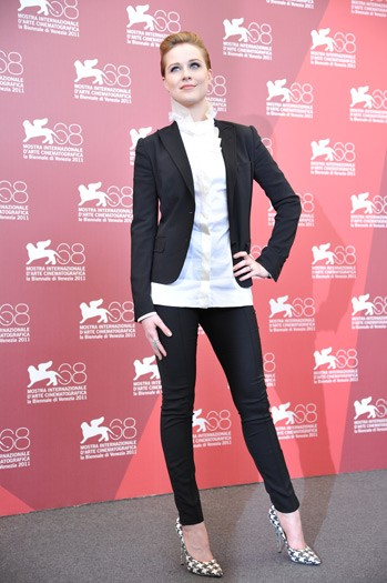Evan Rachel Wood at The Ides of March photocall