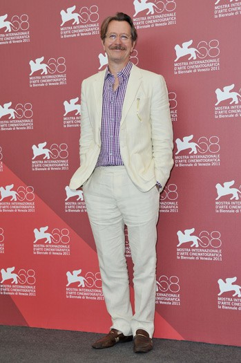 Gary Oldman at the Dark Horse photo call