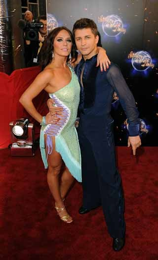 Katya Virshilas and Pasha Kovalev