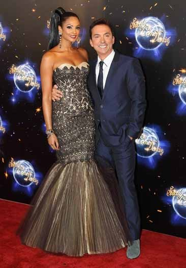 Alesha Dixon and Bruno Tonioli