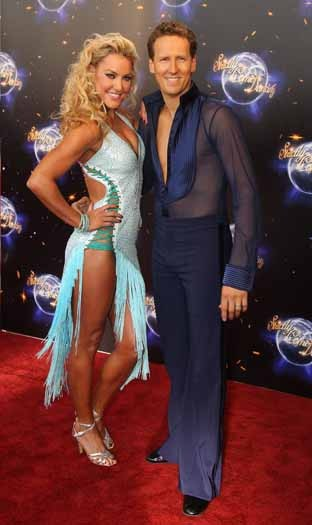 Natalie Lowe and Brendan Cole
