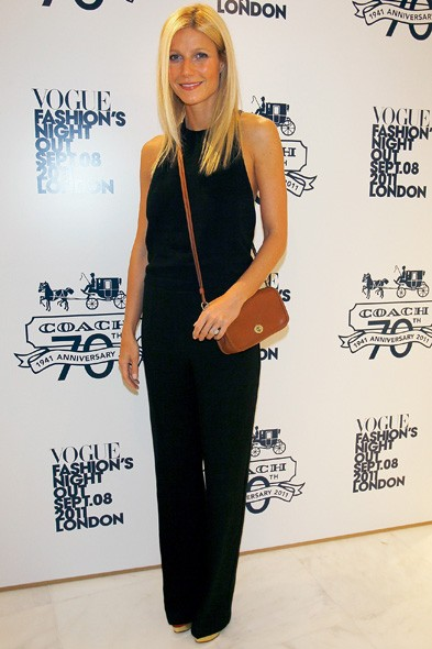 Gwyneth Paltrow at the Coach store launch in London