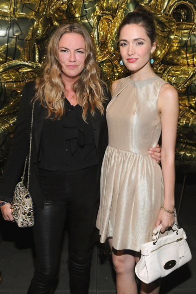 Emma Hill and Rose Byrne
