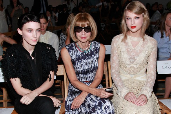 Rooney Mara, Anna Wintour and Taylor Swift