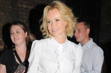 Amanda Holden shows off cool maternity chic