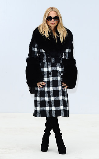 Rachel Zoe at Burberry