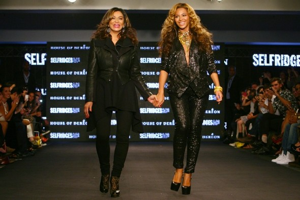 Beyonce and her mum, Tina Knowles