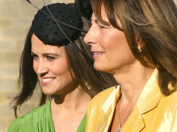 Pippa Middleton goes glam for fifth wedding this year