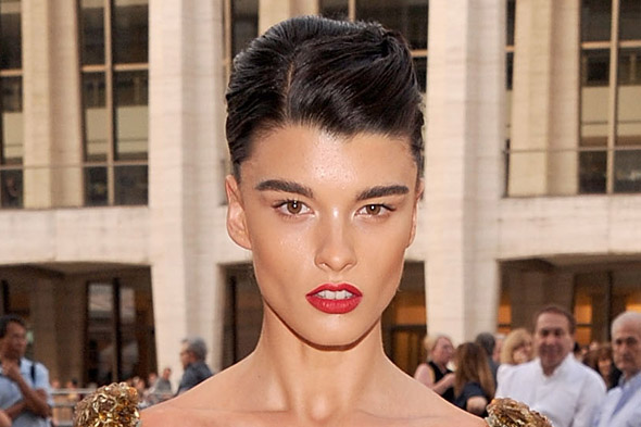 Before and after: Former plus-size model Crystal Renn is virtually unrecognisable