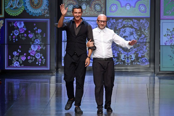Milan says goodbye to D&G