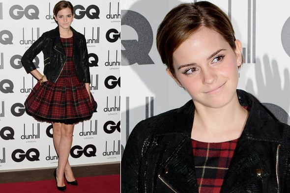Emma Watson at the GQ Men of the Year Awards