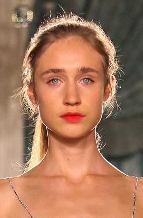 Backstage Beauty: Erdem Spring/Summer 2012