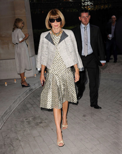 Anna Wintour at Nina Ricci