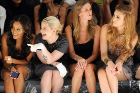 Kelly Osbourne, Angela Simmons, Nicky Hilton and Whitney Port