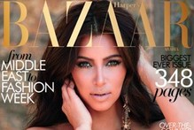 Kim Kardashian strikes the right note on Harper's Bazaar cover