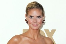 Atomic attire: Heidi Klum channels mushroom cloud with Emmys outfit