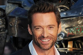 Hugh Jackman at the Real Steel premiere