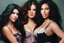 Annie Leibovitz shoots the Kardashian sisters in lingerie