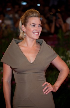 Kate Winslet Wears Victoria Beckham To Venice Film