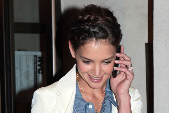 Hot or not: Katie Holmes rocks Heidi braids