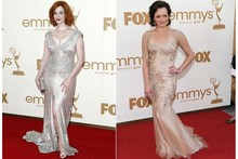 Hot or not: The Mad Men girls match dresses to their skin tones
