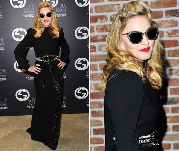 Madonna at the Gucci Women in Cinema Awards