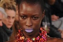 Backstage Beauty: Mary Katrantzou Spring/Summer 2012