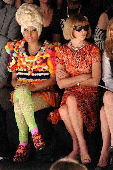 Nicki Minaj and Anna Wintour