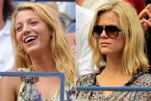 Blake Lively, Amanda Seyfried & Brooklyn Decker enjoy a day at the US Open