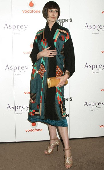 Erin O'Connor at Asprey in London
