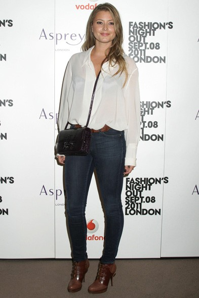 Holly Valance at Asprey in London