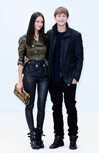 Kaya Scodelario and Elliott Tittensor