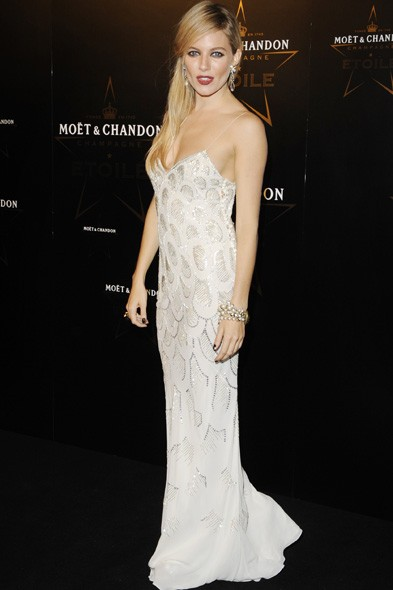 Sienna Miller at the Moet & Chandon party