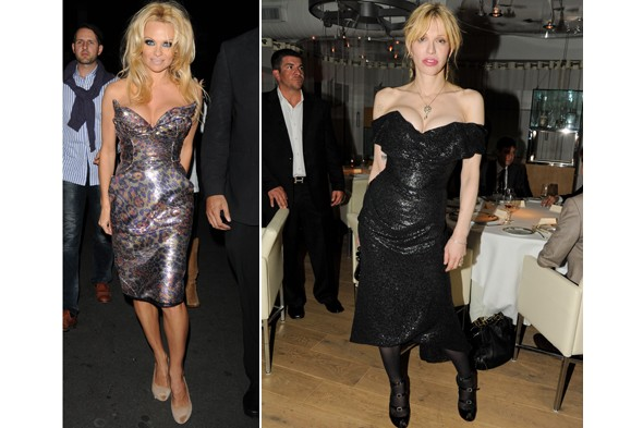 Who wore Vivienne Westwood better, Pamela Anderson or Courtney love?