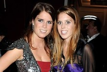 Party princesses - Beatrice and Eugenie attend Freddie Mercury celebration
