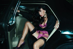Paz de la huerta for agent provocateur