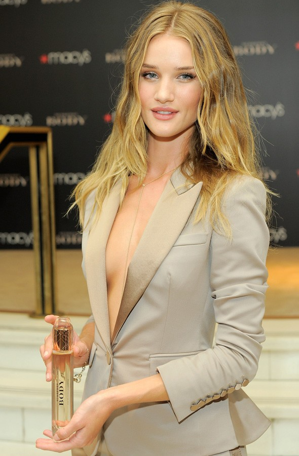 Rosie Huntington-Whiteley at the launch of Burberry Body in New York