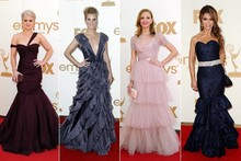 Ruffle resurgence: The biggest trend (literally) at the Emmys