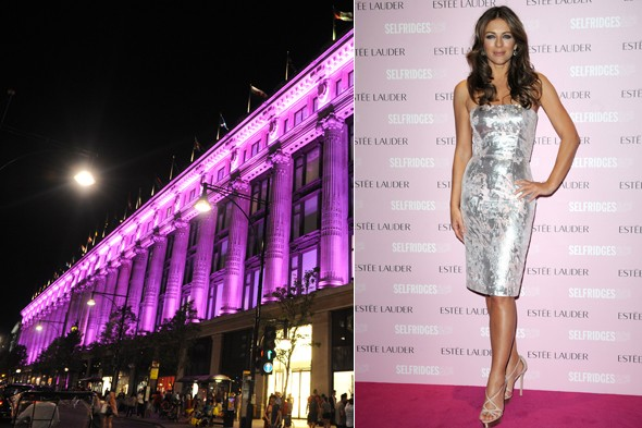 VIDEO: Elizabeth Hurley launches Estee Lauder's Breast Cancer Awareness campagin
